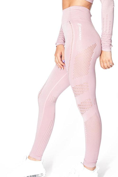 V2 Pink Seamless Leggings