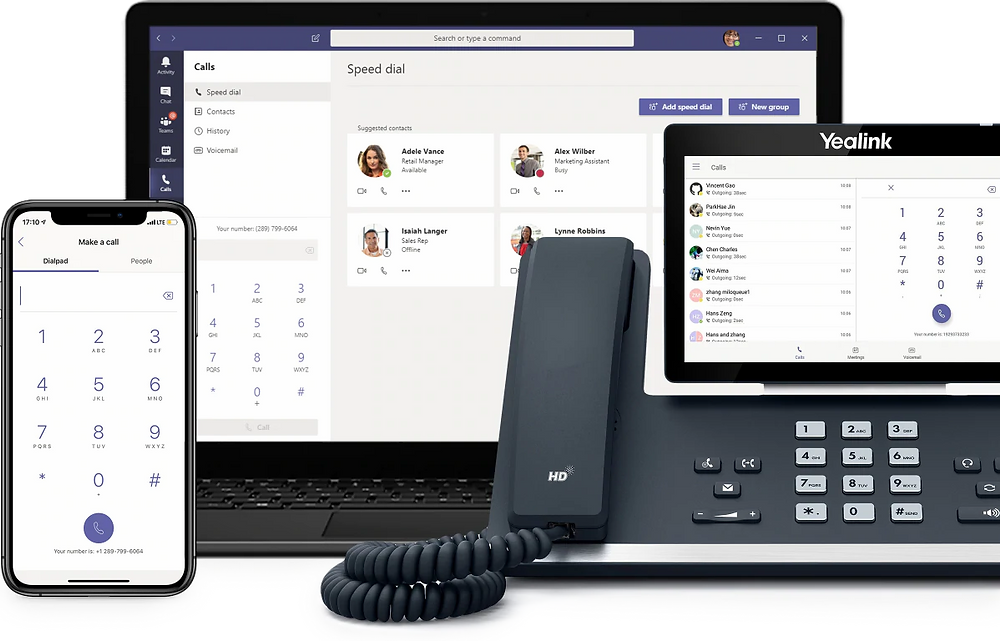 Microsoft 365 Business Voice Devices