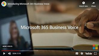 Microsoft 365 Business Voice Video