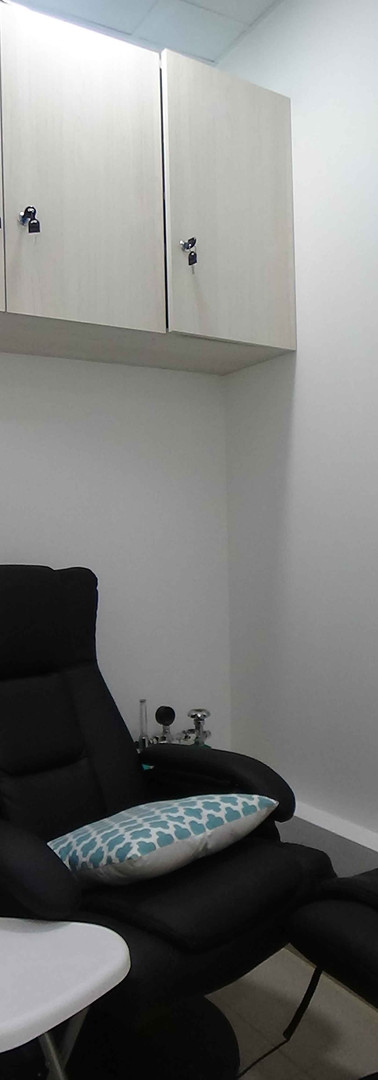 Sala recuperación y relajación