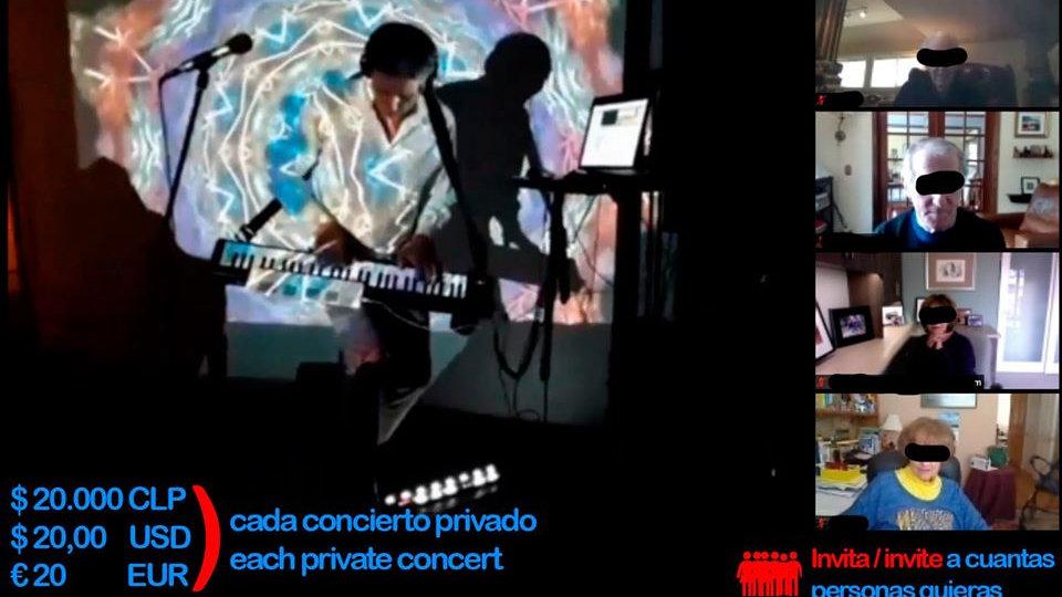 Concierto Multimedial privado via ZOOM