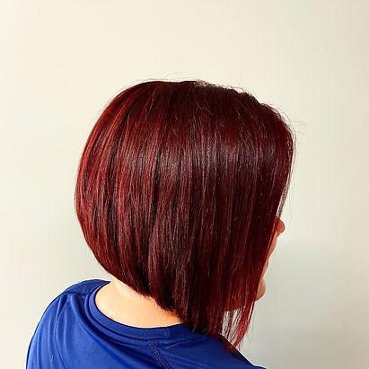 Red Hair, Bob Haircut