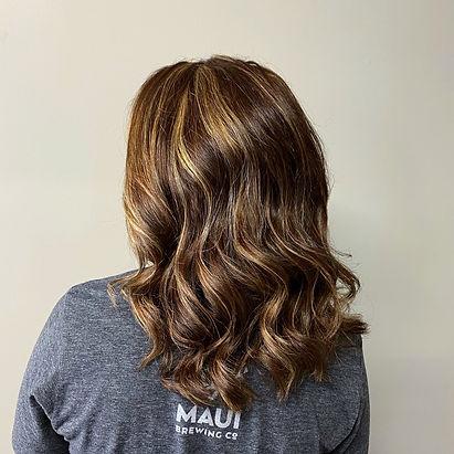 Brown Hair, Highlights