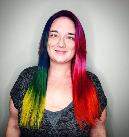 Vivids Hair Color, Fun Hair, Extensions, Color Transformation
