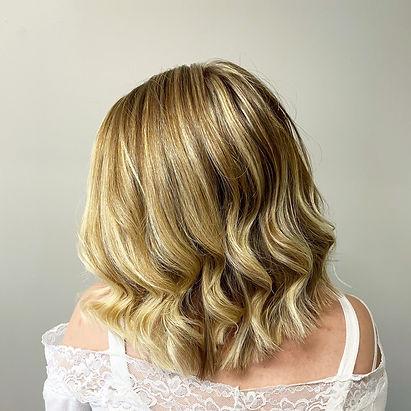 Blonde Hair, Balayage