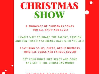 Online Student Christmas Concert!
