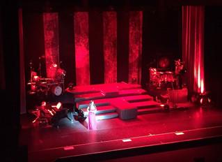 Performing at the London Palladium