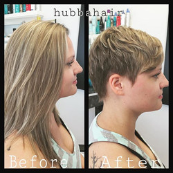 Another #makeover at #magnoliasalon Good luck with #gradschool Emily! #jenniferlaurence #pixiecut #h