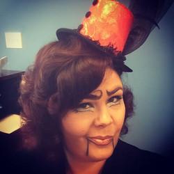 Day Two of my week of Halloween! Today's look is a #ventriloquistdummy #halloween #halloweenmakeup #