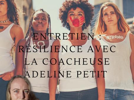 #Entretien avec le blog Neiges Africaines : Résilience avec la coacheuse Adeline PETIT