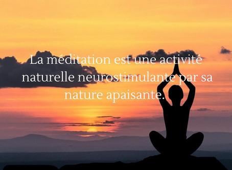 La méditation ou l'art d'observer sans jugement