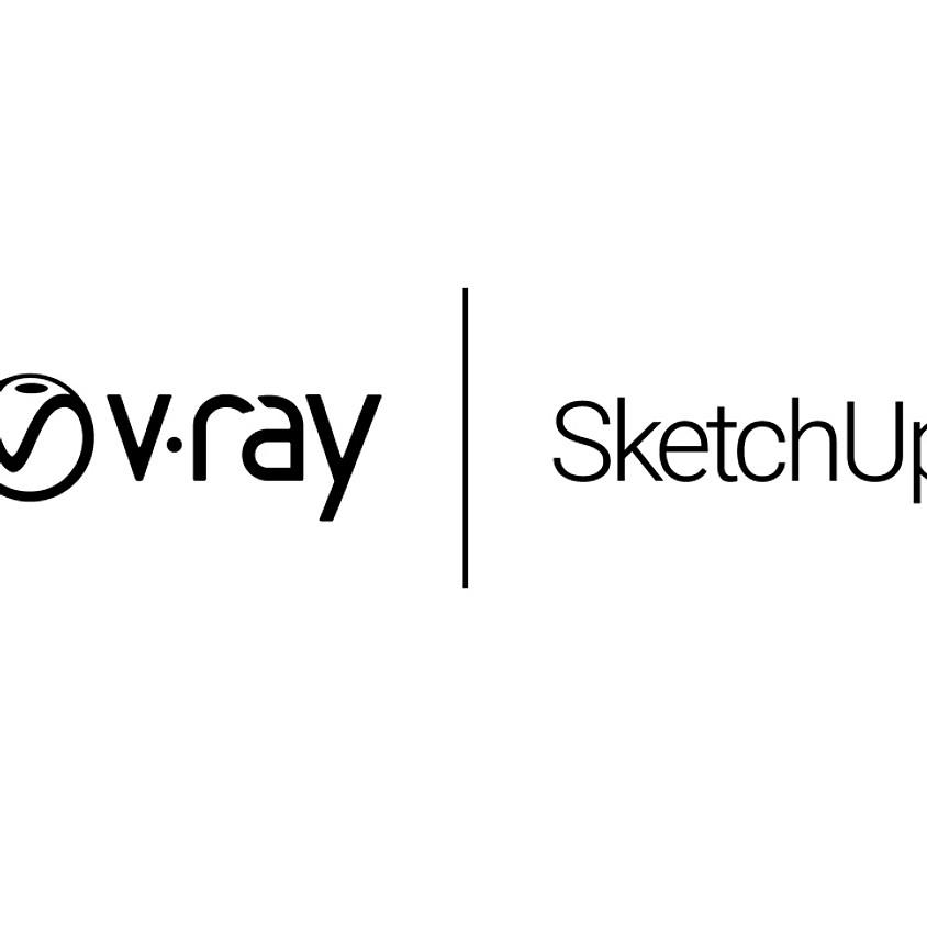V-ray SketchUp  (للمبتدئين)