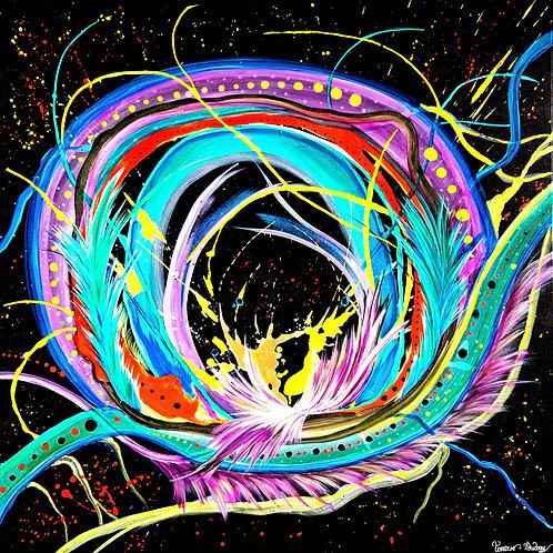 Tableau Abstrait Infinity