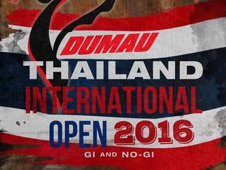 Dumau Thailand International Open Tournament 2016