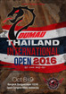 Dumau Thailand International Open Tournament 2016