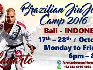 Brazilian Jiu-Jitsu Camp Bali 2016
