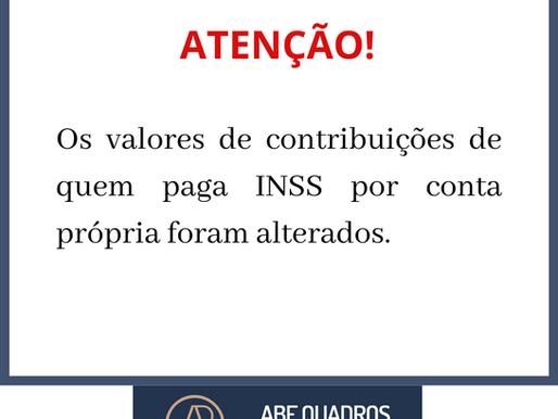 Veja como ficam as contribuições de quem paga o INSS por conta própria