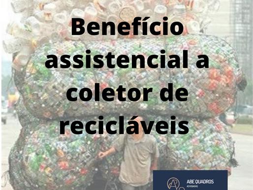 TRF3 CONCEDE BENEFÍCIO ASSISTENCIAL A COLETOR DE RECICLÁVEIS PORTADOR DE TUBERCULOSE