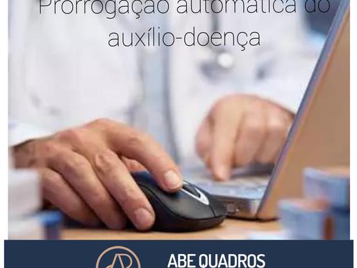 INSS normatiza prorrogação automática do auxílio-doença