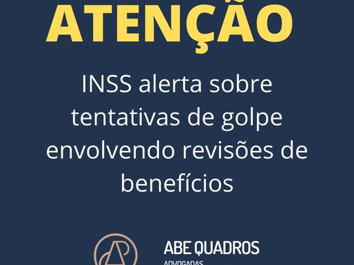 INSS alerta sobre tentativas de golpe envolvendo revisões de benefícios