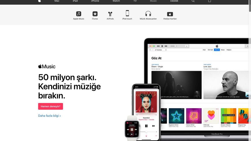 Music Marketing Apple TR