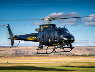 Eagle Copters Ltd. partnered with Airbus H125 to support Calgary Police HAWCS