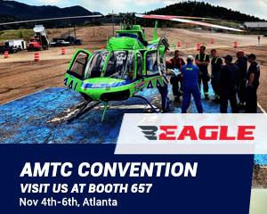 Eagle at AMTC - Air Medical Transport Conference, for the 2nd consecutive year!