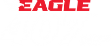 Eagle 407 logo red reverse.png