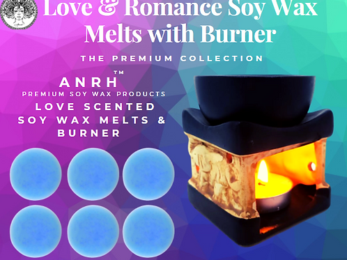 Love & Romance Soy Wax Melts with Burner