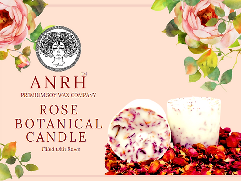 ROSE BOTANICAL CANDLE
