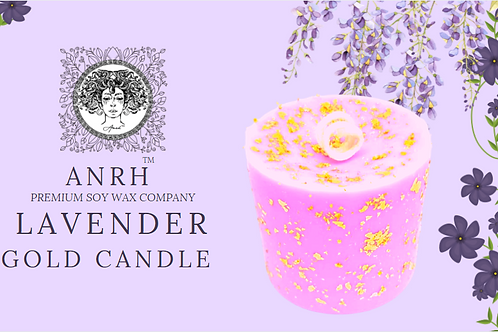 LAVENDER GOLD CANDLE