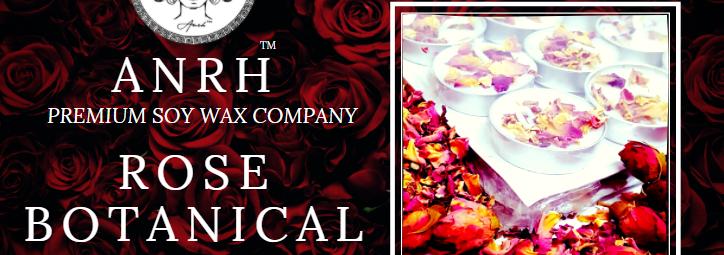 ROSE BOTANICAL TEALIGHT CANDLES - 50 Pieces (Fragrance)
