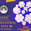 Thumbnail: ANRH DIWALI FLORAL DIYA - Pack of 4 Pieces