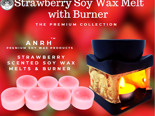 Strawberry Wax Melts with Burner