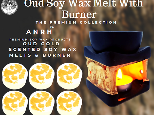 Oud Wax Melts with Burner