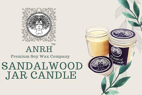ANRH SANDALWOOD JAR CANDLE - Pack of 2