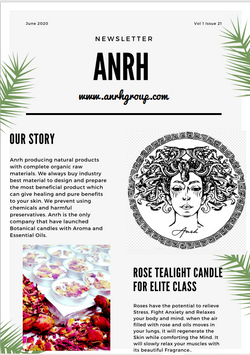 First Page - Newsletter