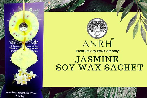 JASMINE SOY WAX SACHET - The fragrance sachet filled with Jasmine Essential Oil
