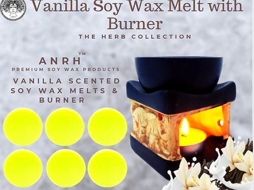 Vanilla Soy Wax Melts with Burner