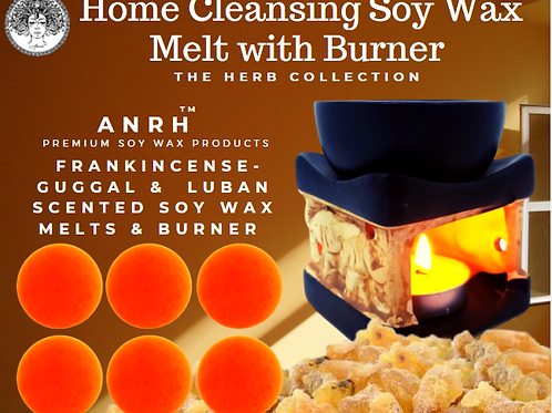Home Cleansing Soy Wax Melts with Burner