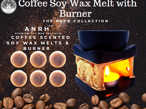 Coffee Wax Melts with Burner
