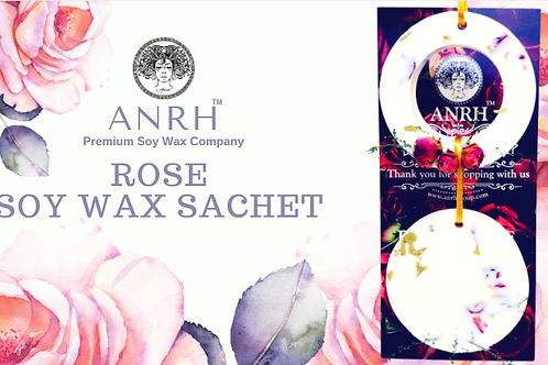 ROSE SOY WAX SACHET - The fragrance sachet filled with roses