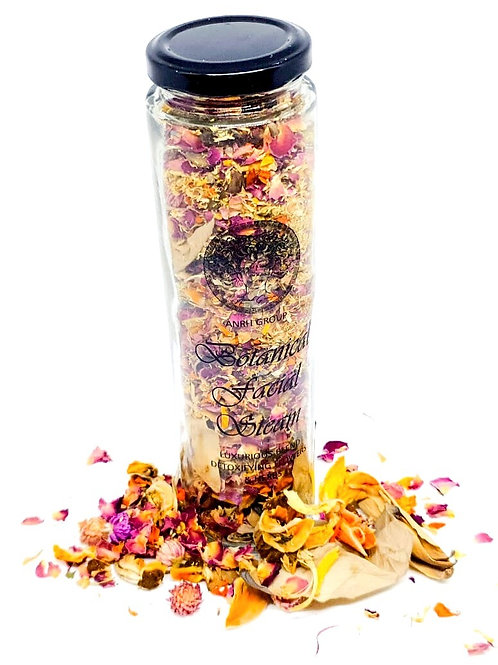 BOTANICAL FACIAL STEAM - Blend of Exotic Flowers & Herbs