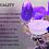 Thumbnail: SPARKLING LAVENDER TEALIGHTS - 50 Pieces