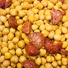 Chickpea, tomato and chorizo