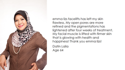 emma lizs testimonial - Datin Laila