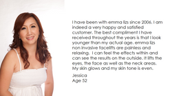 emma lizs testimonial - Jessica