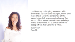 emma lizs testimonial - Julie Yuen