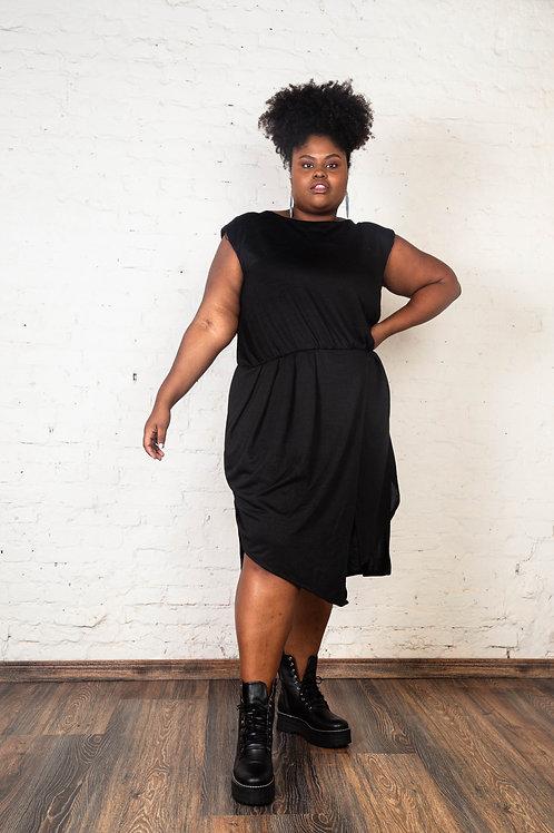 Vestido NY Preto | Plus Size