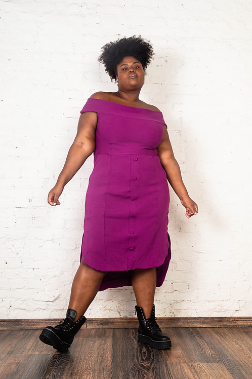 Vestido Varadero Violeta | Plus Size